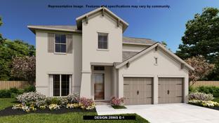 2598S - Kallison Ranch 50': San Antonio, Texas - Perry Homes