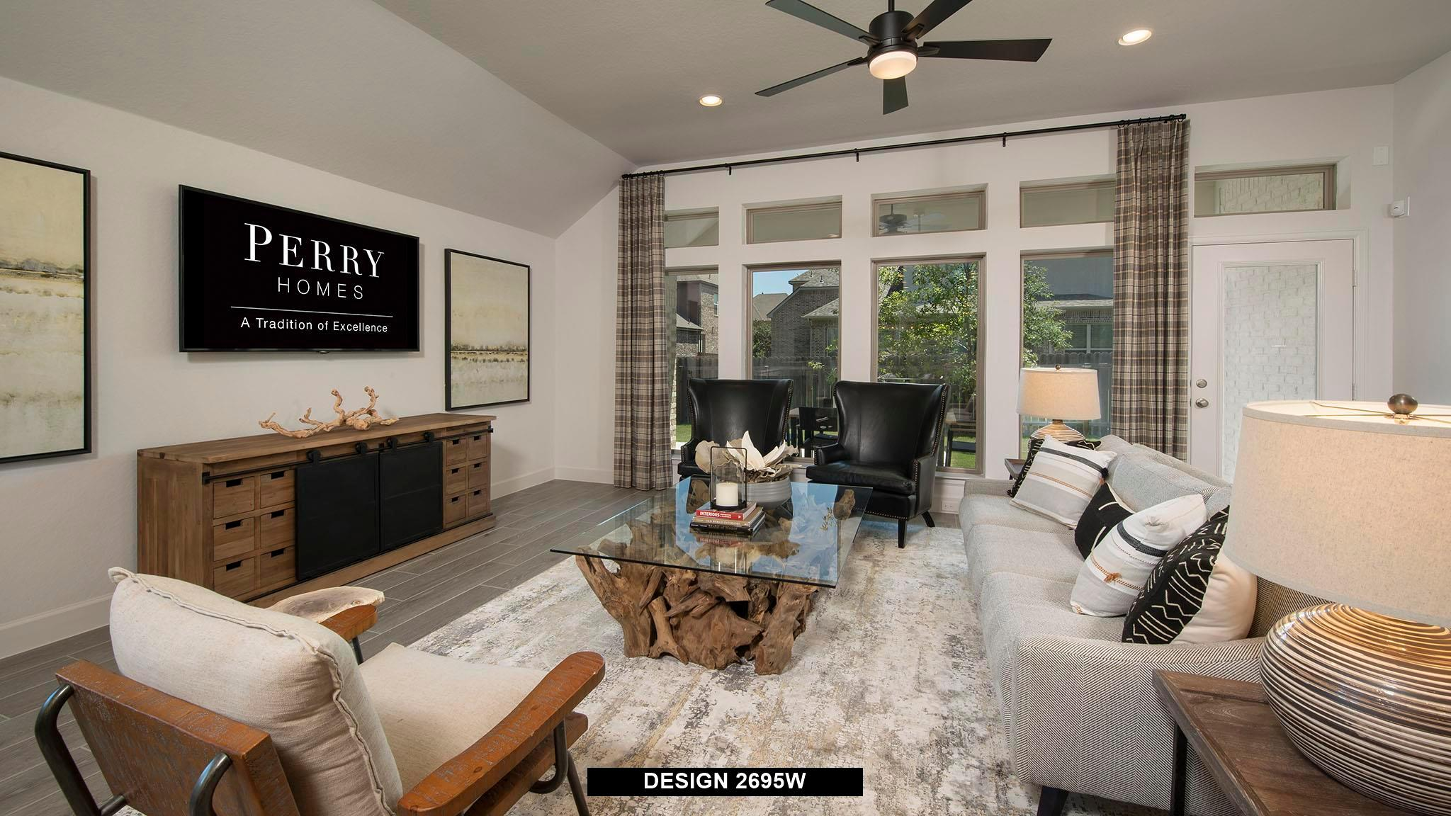 Living Area featured in the 2695W By Perry Homes in San Antonio, TX