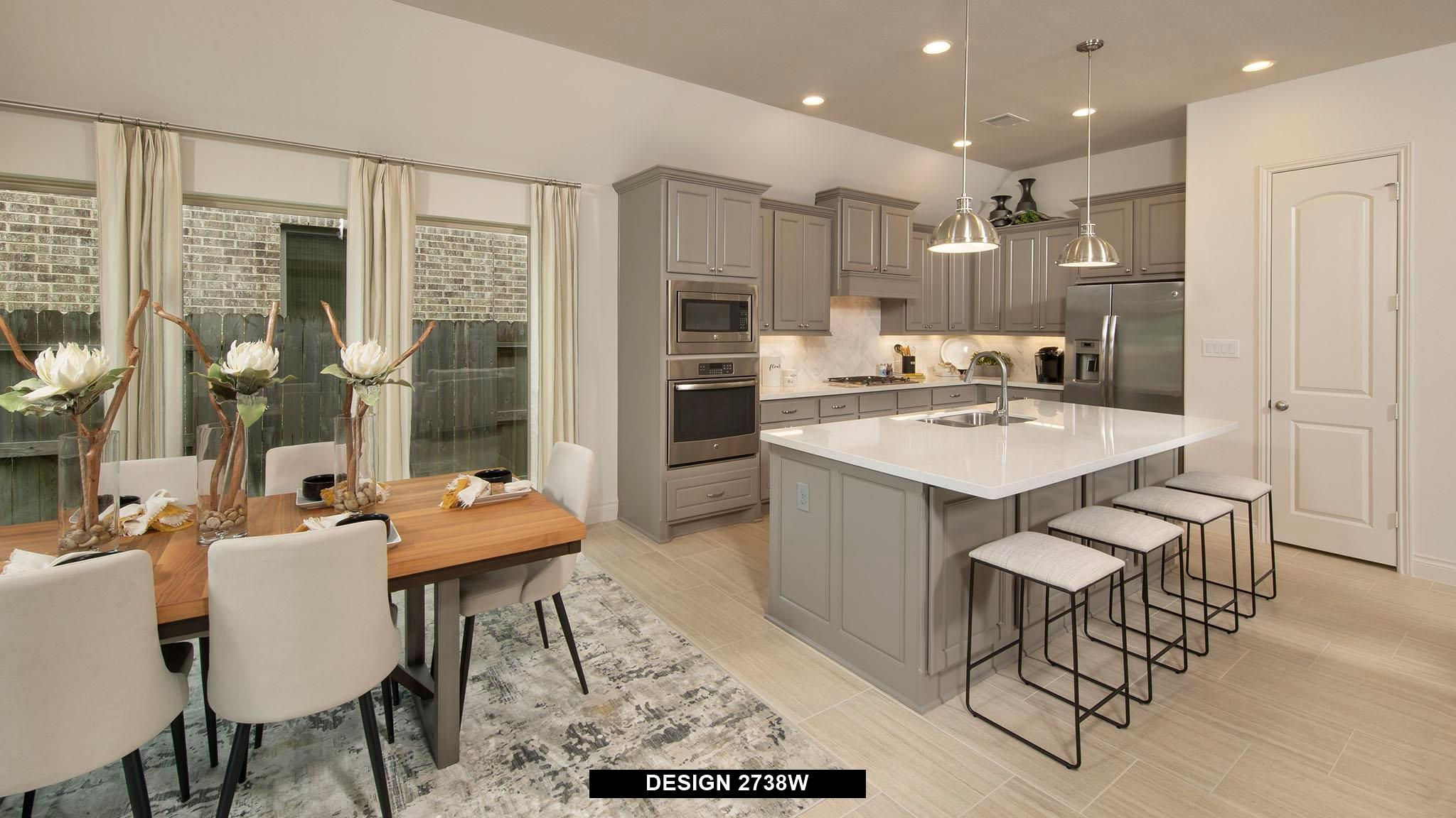 Kitchen featured in the 2738W By Perry Homes in San Antonio, TX