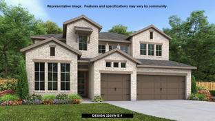 3203W - River Rock Ranch 60': San Antonio, Texas - Perry Homes
