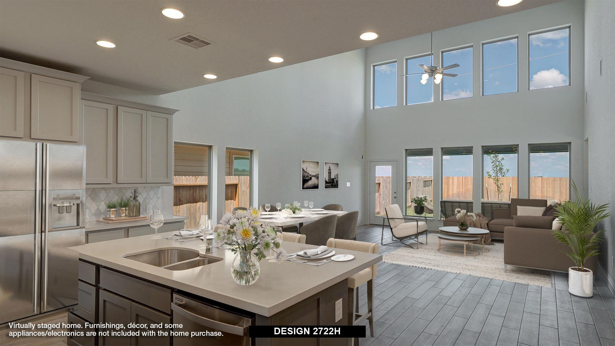 Living Area featured in the 2722H By Perry Homes in San Antonio, TX