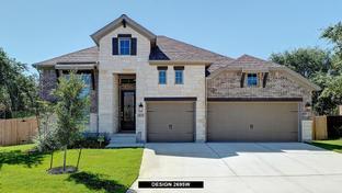2695W - Stevens Ranch 55': San Antonio, Texas - Perry Homes