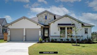 2943S - Johnson Ranch 85': Bulverde, Texas - Perry Homes