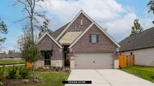 2079W - Grand Central Park 45': Conroe, Texas - Perry Homes