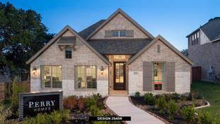 2545W - Johnson Ranch 55': Bulverde, Texas - Perry Homes