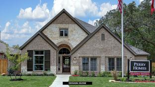 2525W - Balcones Creek 55': Boerne, Texas - Perry Homes