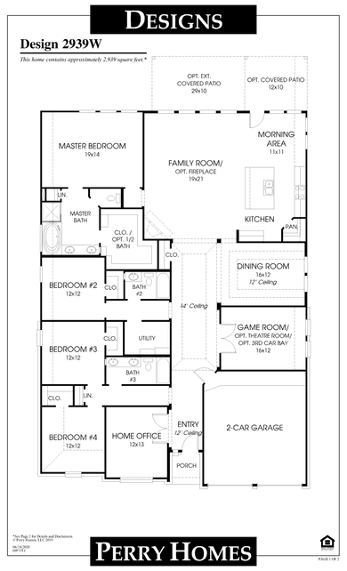 2939w plan at cane island 60' in katy, texasperry homes