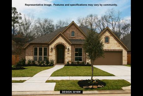 3016W Model at Veranda 65\' in Richmond, Texas 77469 by Perry Homes