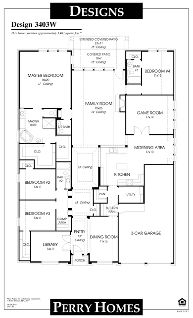 3403w plan at veranda 65' in richmond, texasperry homes
