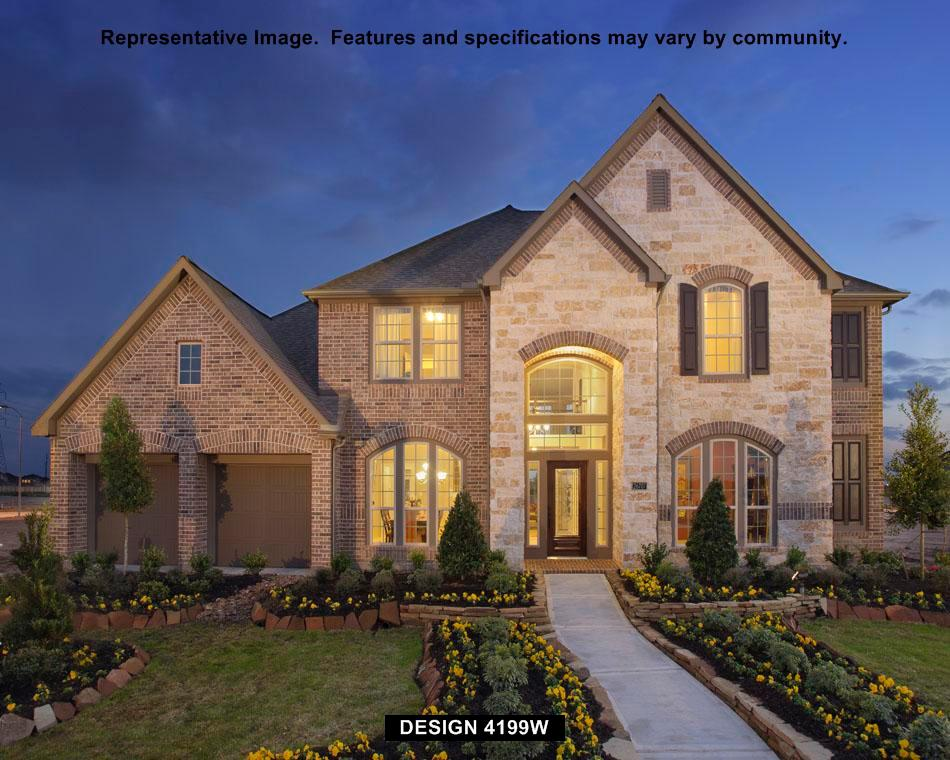 4199w plan roanoke texas 76262 4199w plan at fairway for House plans san antonio