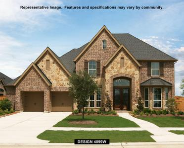 Cinco Ranch Northwest 65 39 In Katy Tx New Homes Floor