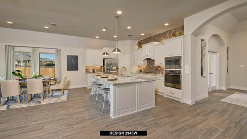 Kitchen-in-2943W-at-Lakes at Creekside 65'-in-Tomball