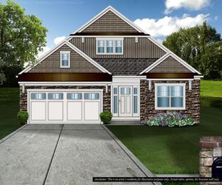 Lancaster - The Village: Brecksville, Ohio - Petros Homes