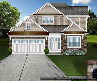 Lancaster 2-Story - The Village: Brecksville, Ohio - Petros Homes