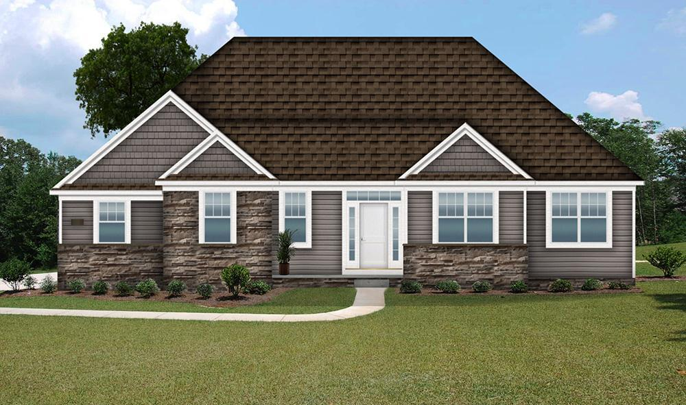 Exterior featured in the Landon By Petros Homes in Cleveland, OH