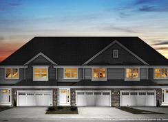 Townsend - Villas at City Center: Broadview Heights, Ohio - Petros Homes