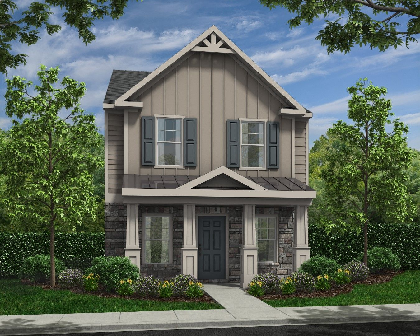 Exterior featured in the Monroe By Piedmont Residential in Atlanta, GA