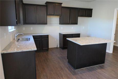 Kitchen-in-Turnbridge-at-Park at Cedarcrest-in-Dallas