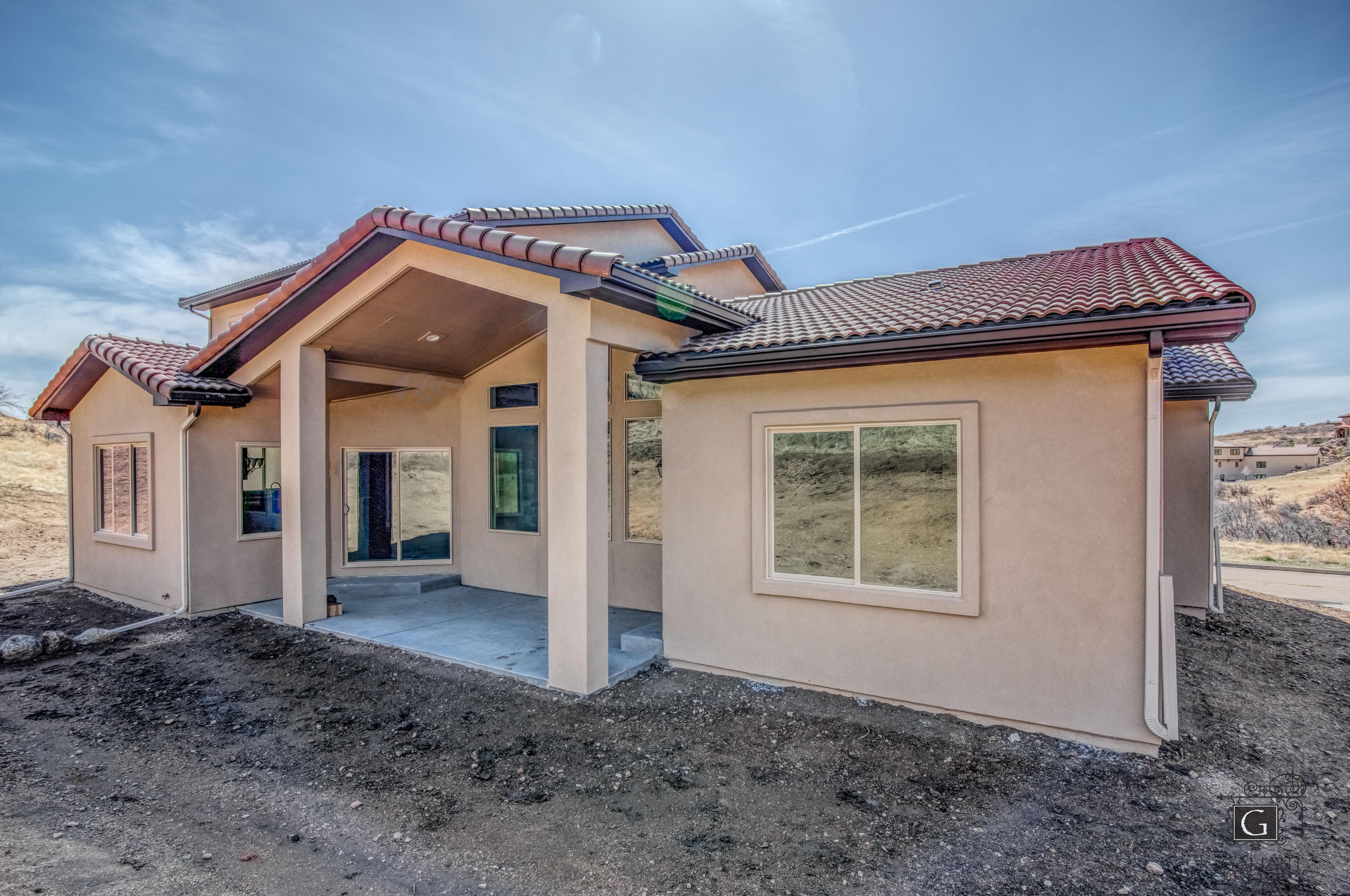 Exterior featured in the Intrepid (Slab) By Galiant Homes in Colorado Springs, CO