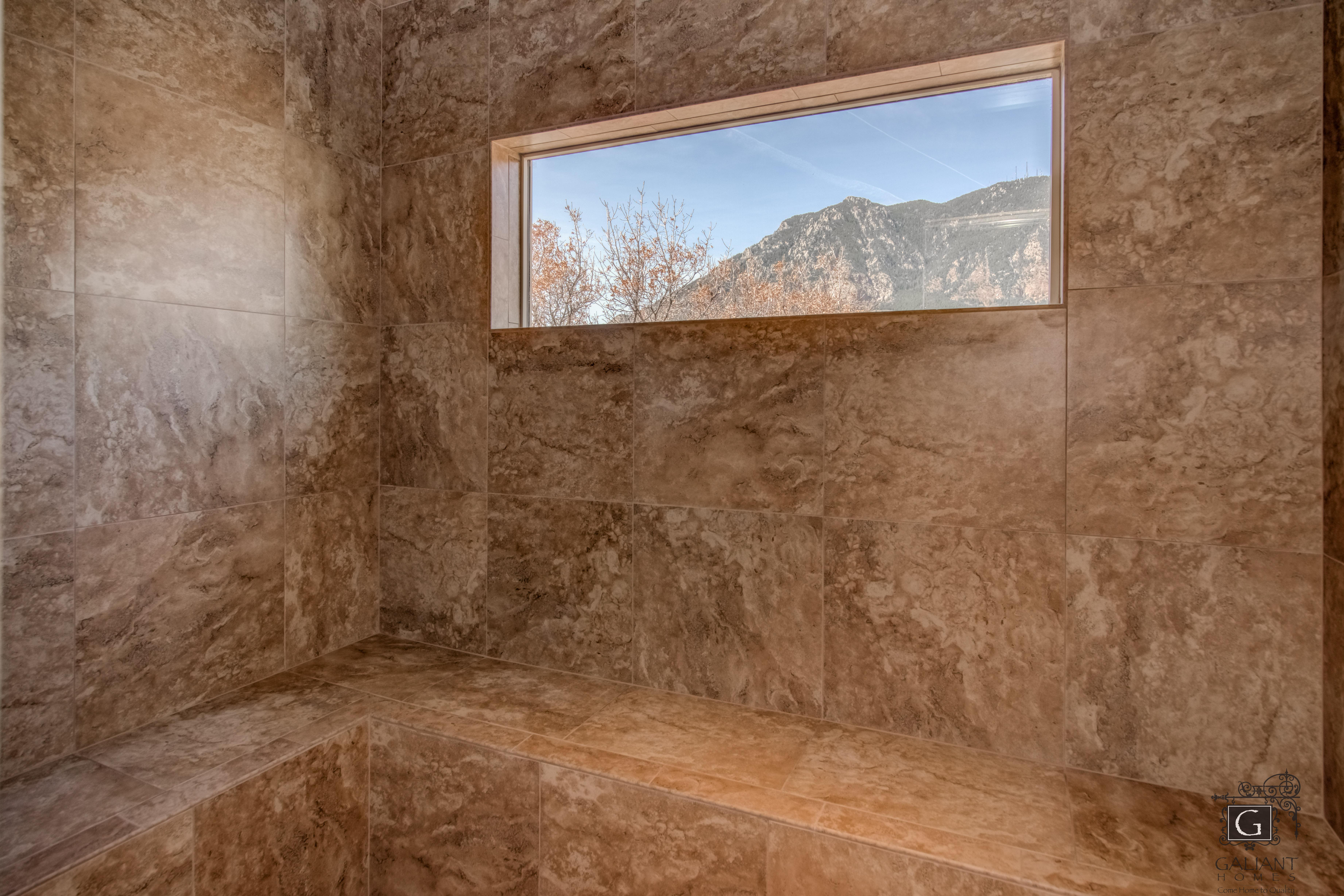 Bathroom featured in the Intrepid (Slab) By Galiant Homes in Colorado Springs, CO