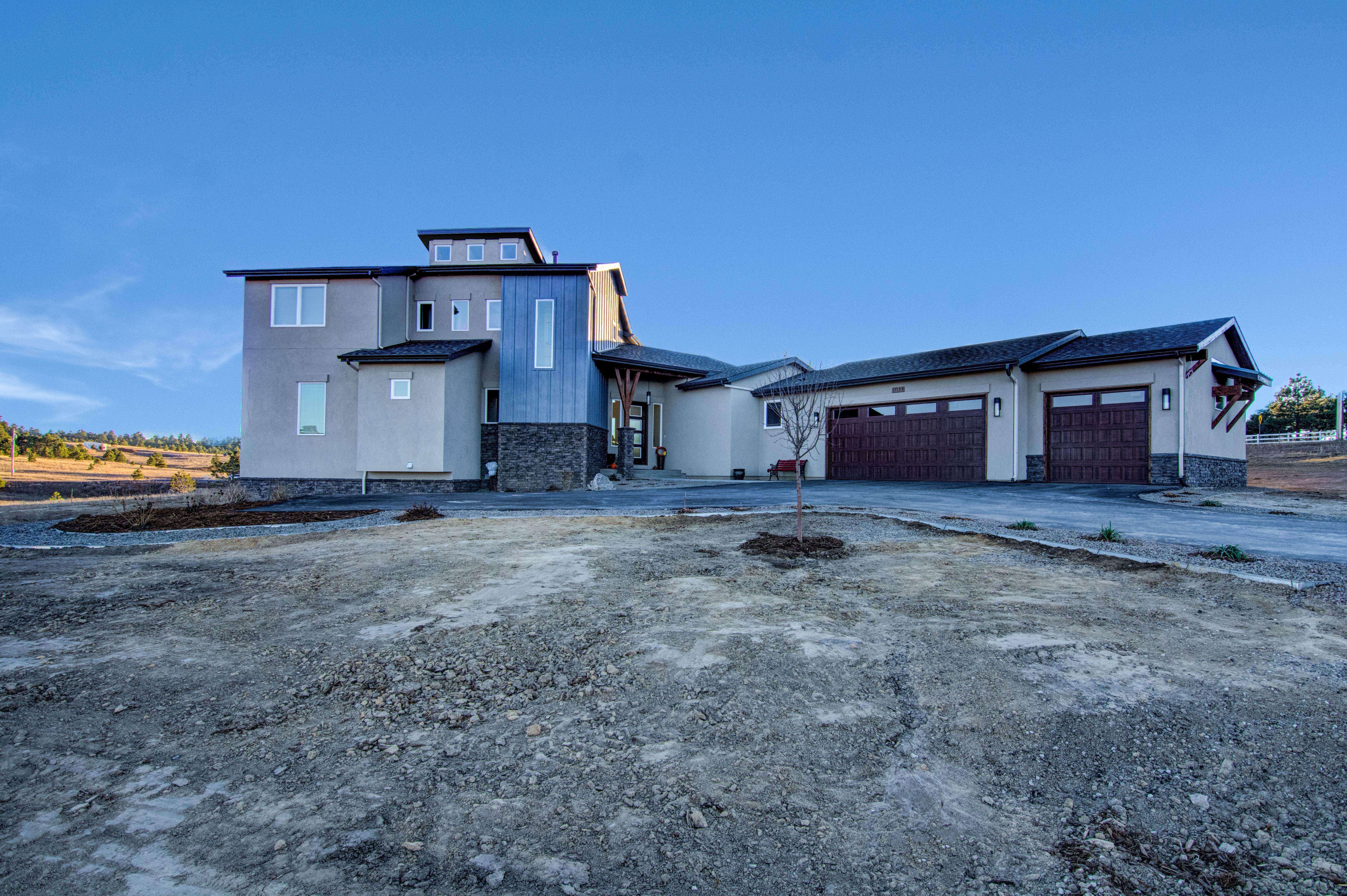 Exterior featured in the Valor (Slab) By Galiant Homes in Colorado Springs, CO