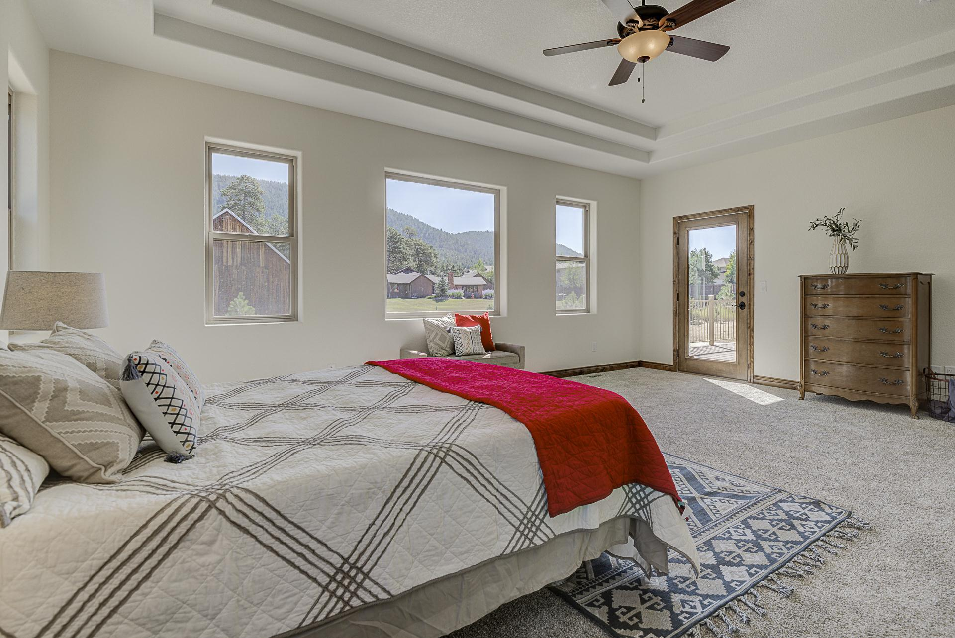 Bedroom featured in the Evergreen By Wildernest in Colorado Springs, CO