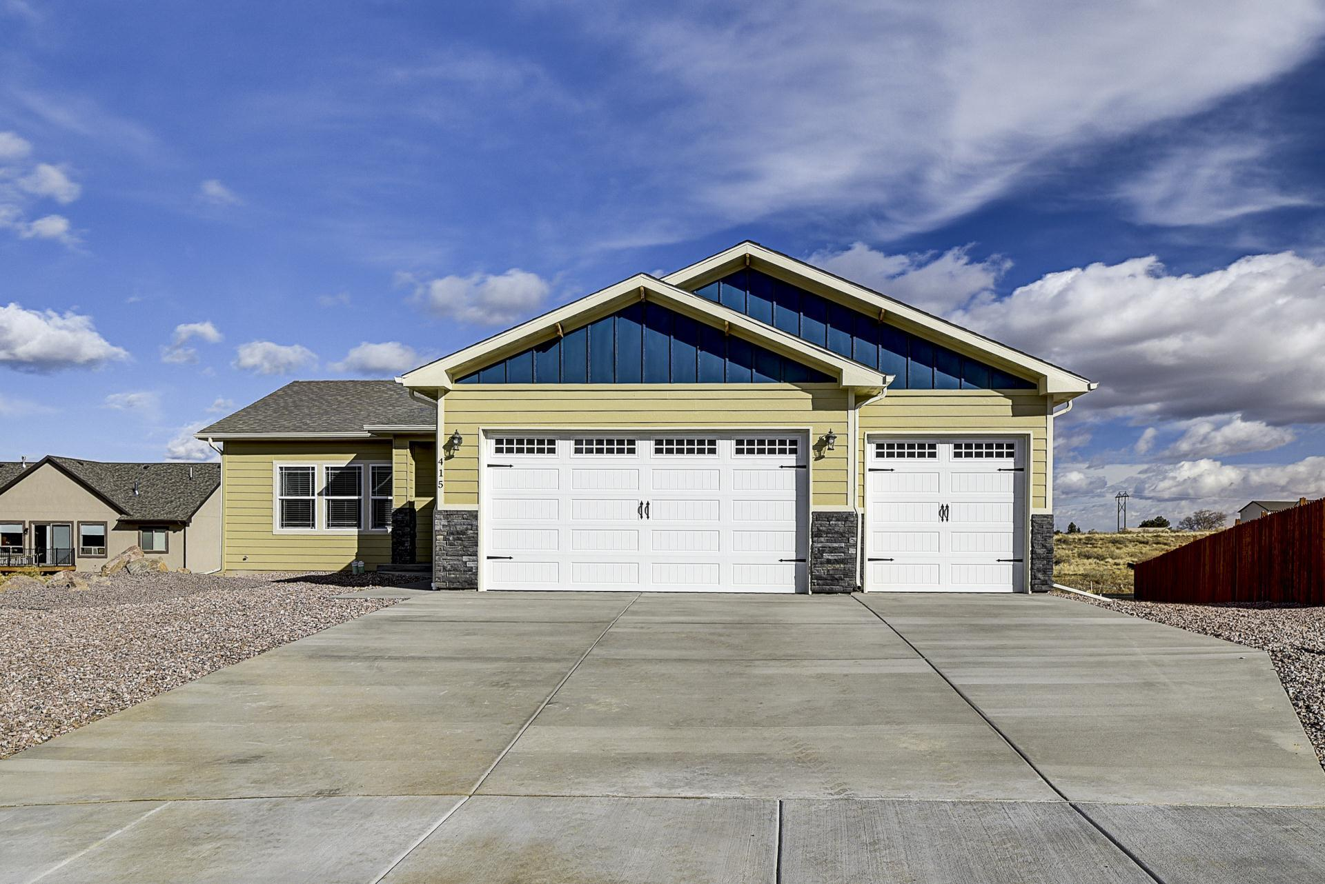 Exterior featured in the Harmony By Westover Homes in Colorado Springs, CO