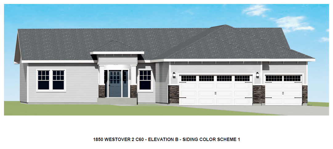 Exterior featured in the Whisper By Westover Homes in Pueblo, CO