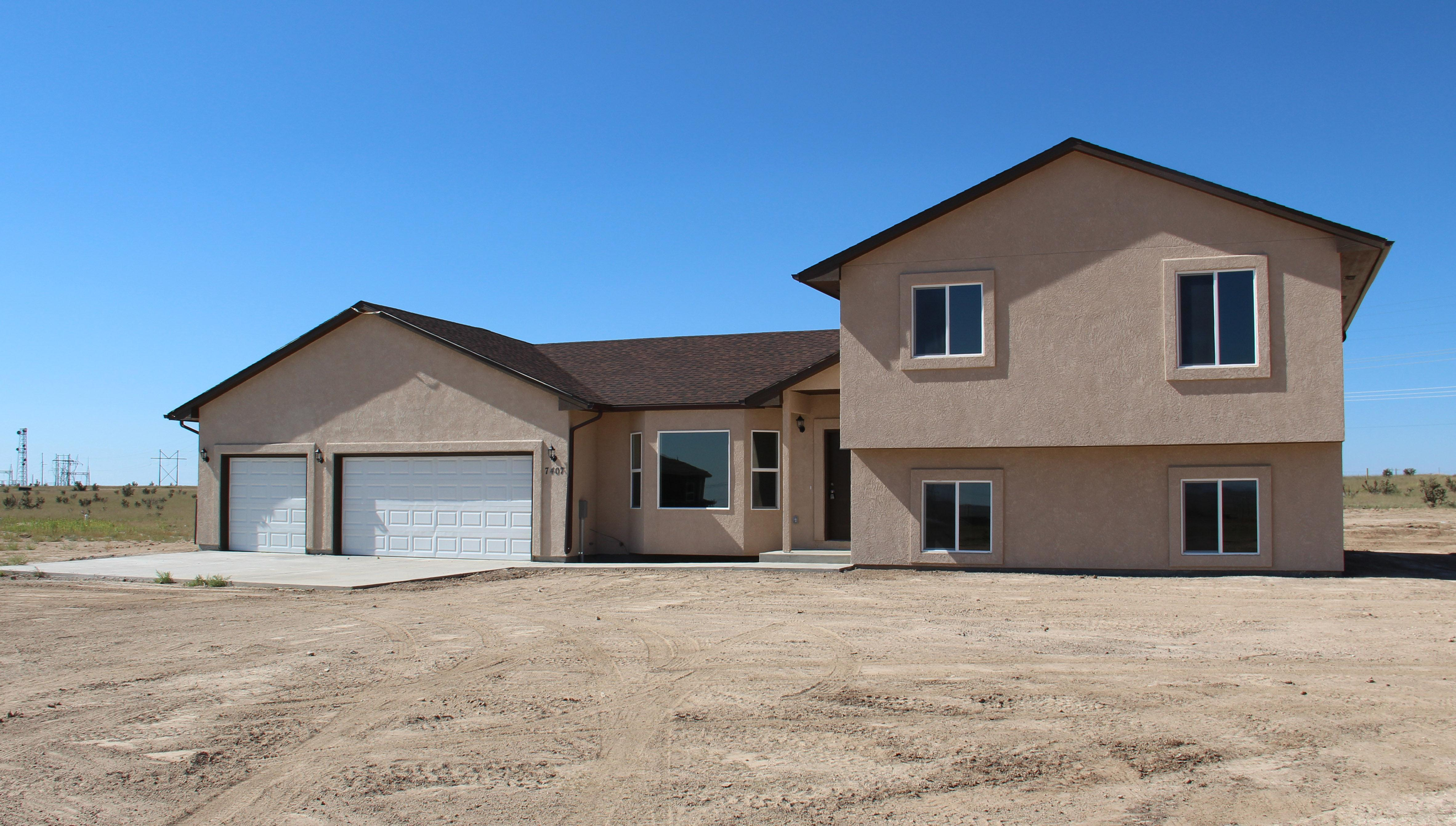Exterior featured in the Columbine By Powell Homes in Colorado Springs, CO