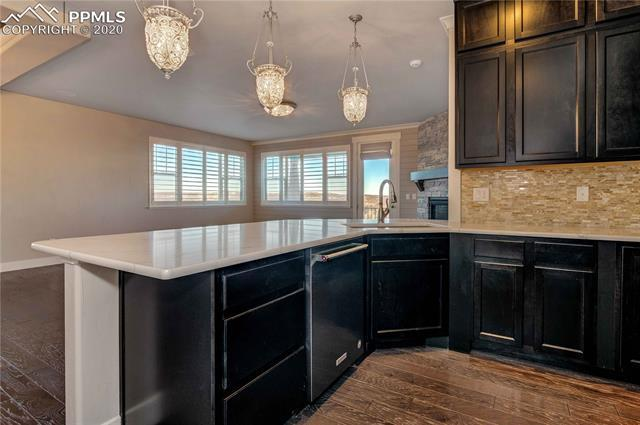Kitchen featured in the Daniels By Adamo Homes in Colorado Springs, CO