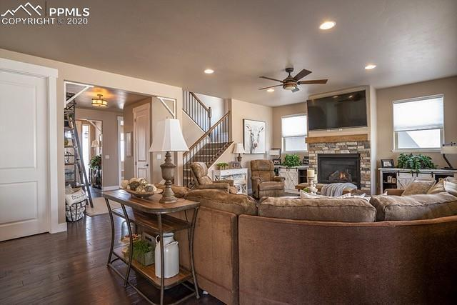 Living Area featured in The Walker By Adamo Homes in Colorado Springs, CO
