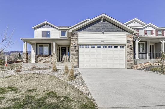North Colorado Springs New Homes For