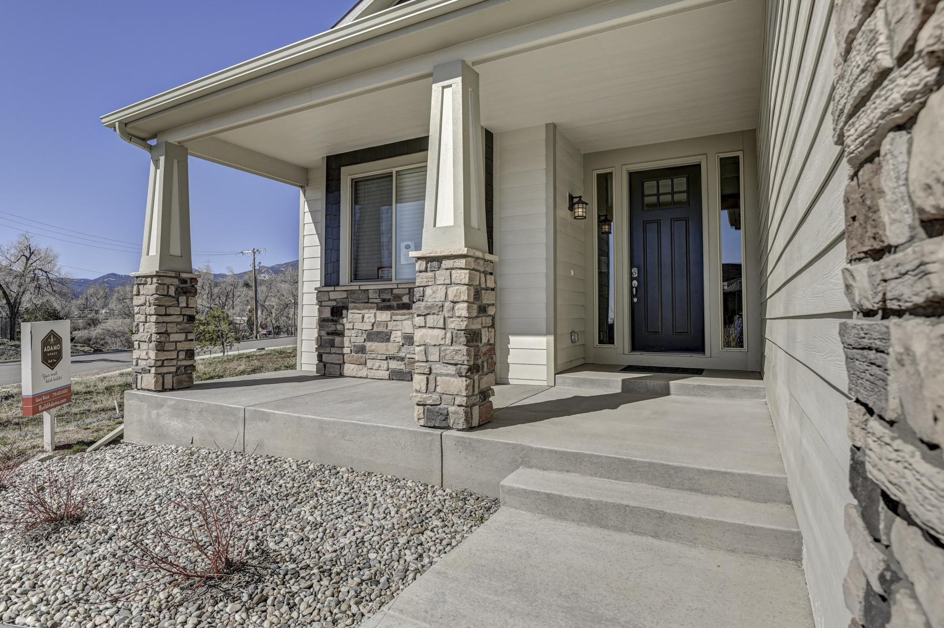 Exterior featured in The Walker By Adamo Homes in Colorado Springs, CO