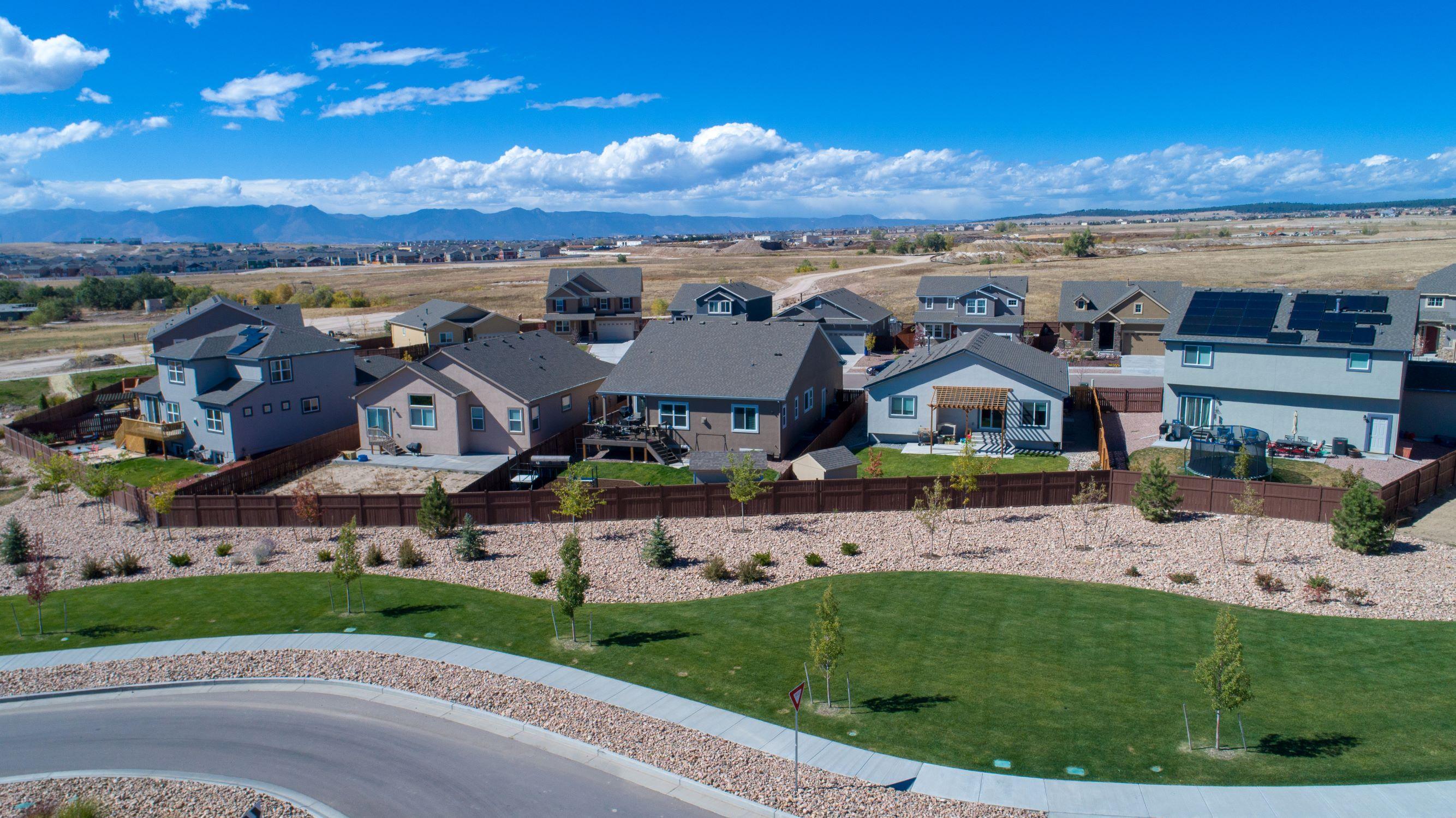 'The Enclave at Shiloh Mesa' by Adamo Homes in Colorado Springs