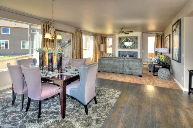 Living Area featured in the Pikes Peak - Upper Level Master (Slab) By Reunion Homes