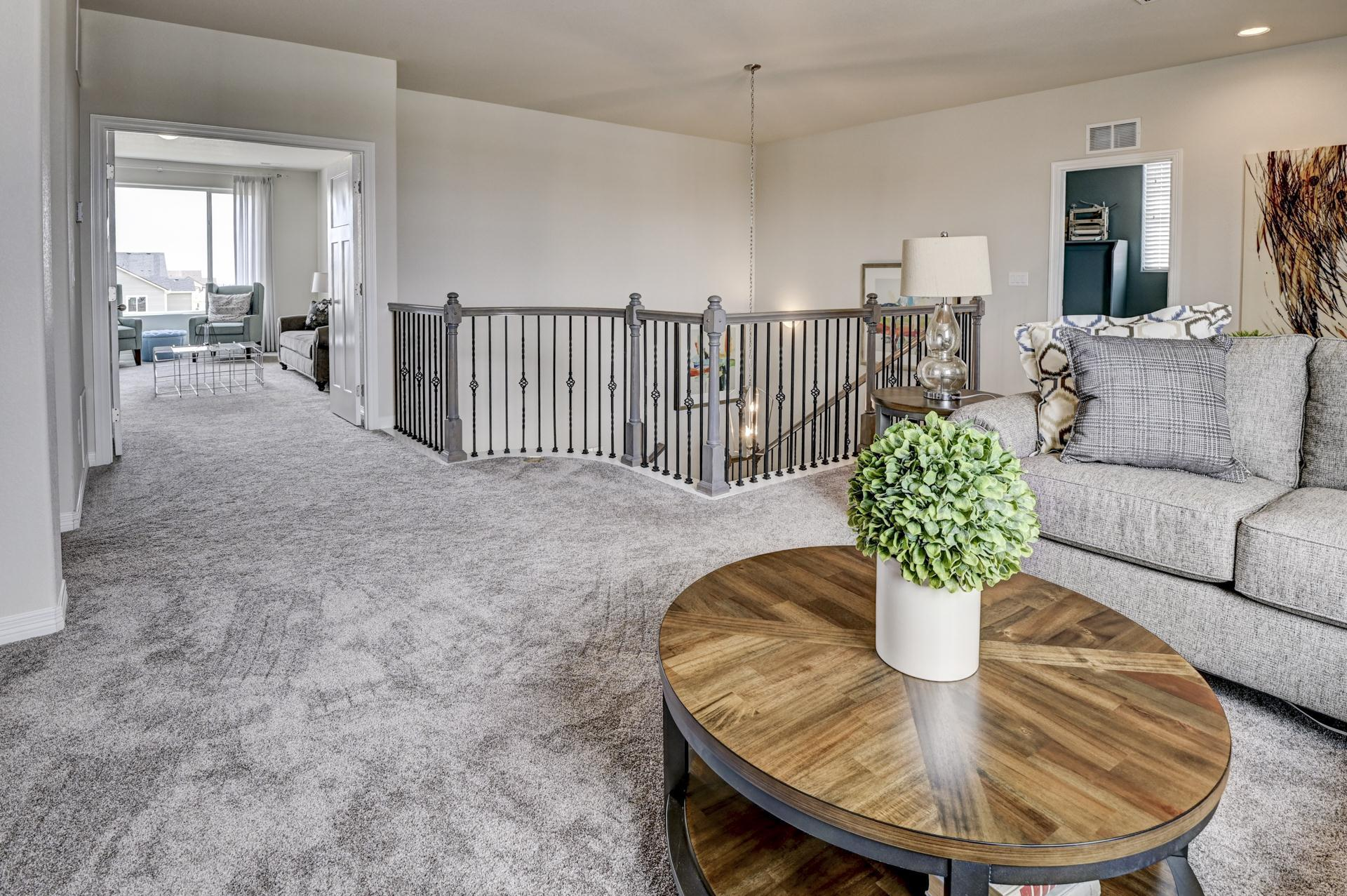 Living Area featured in the Sunlight Peak (Slab) By Reunion Homes in Colorado Springs, CO