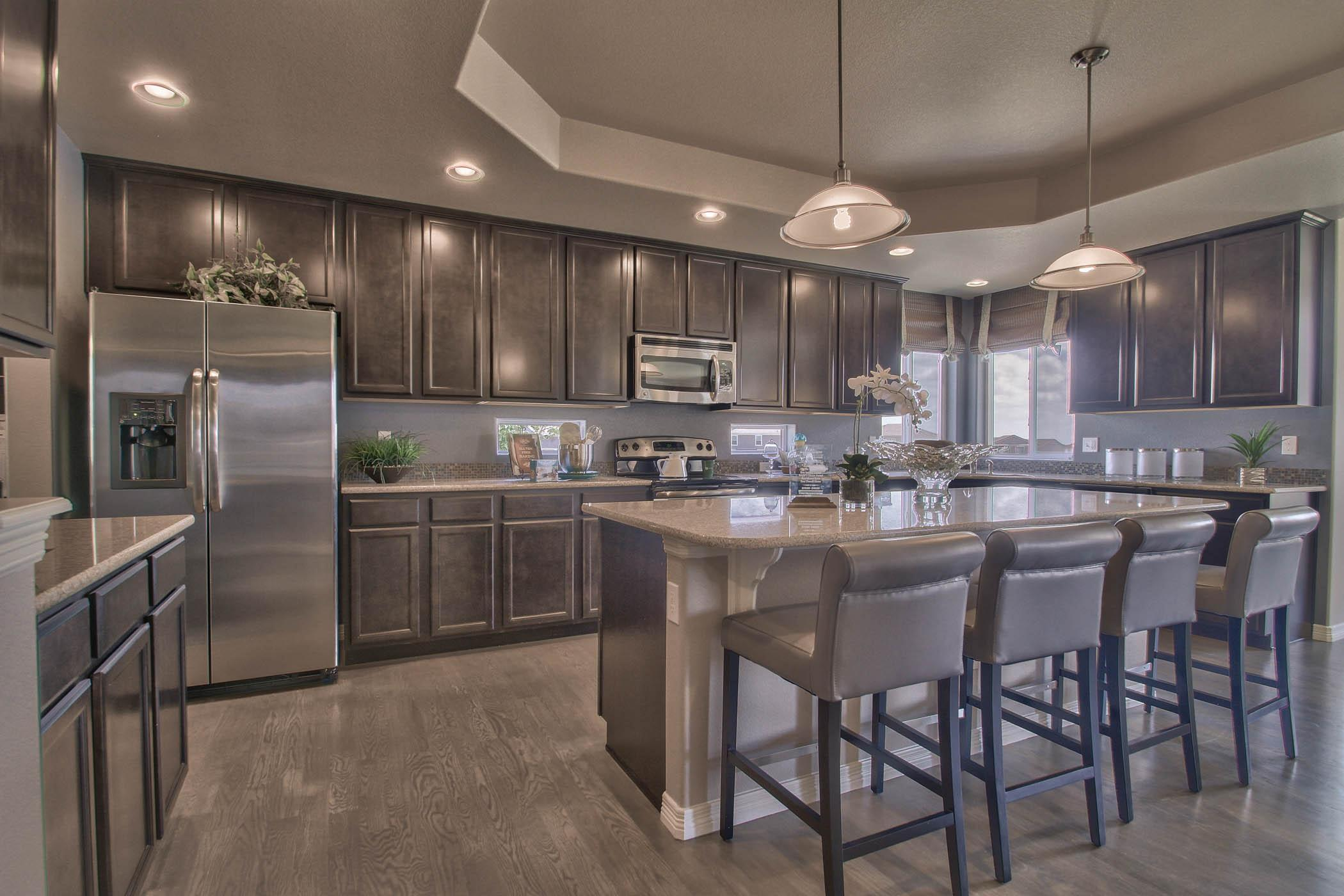 Kitchen featured in the Pikes Peak - Upper Level Master (Unfinished Basement) By Reunion Homes