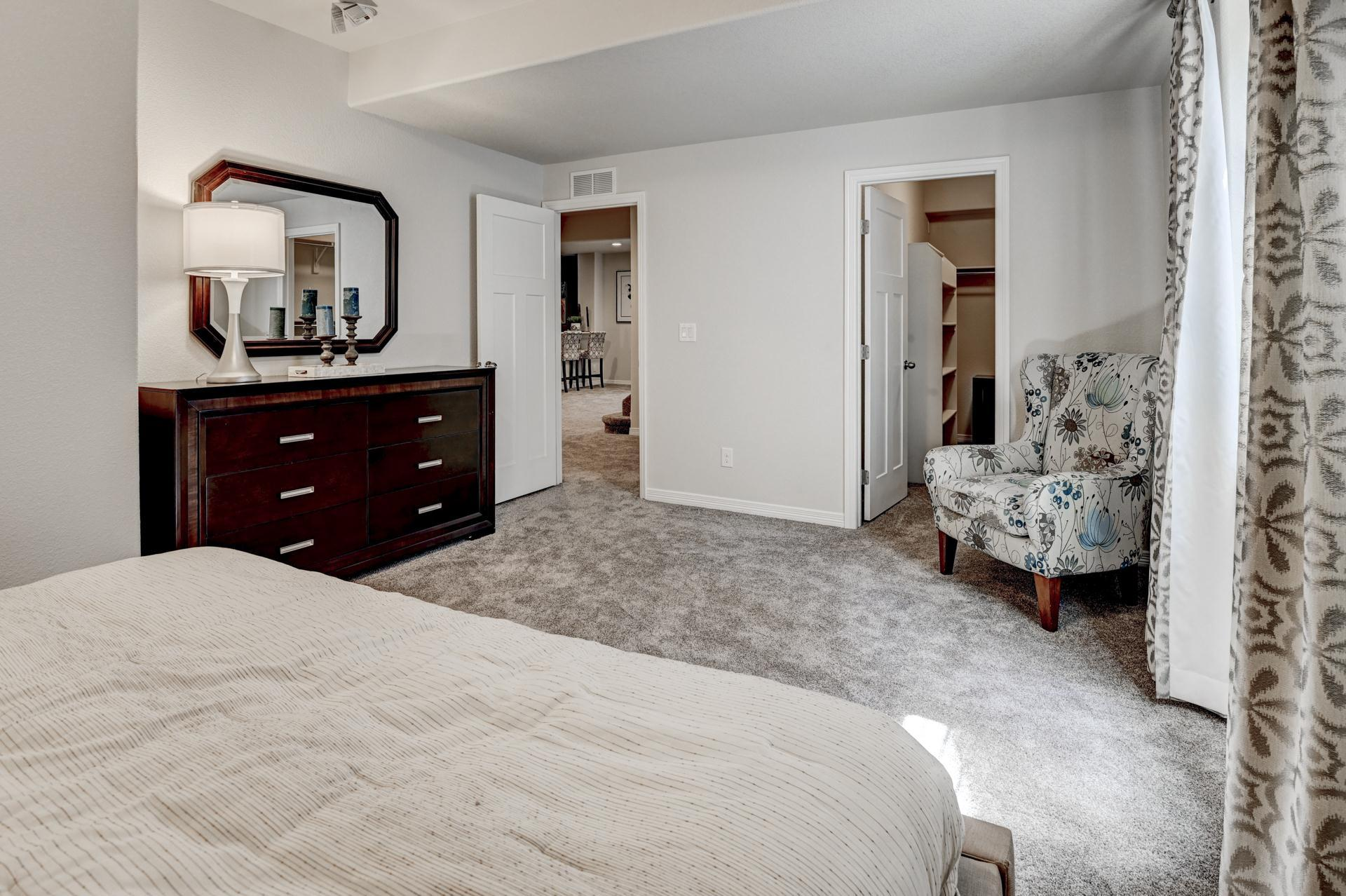 Bedroom featured in the Sunlight Peak (Unfinished Basement) By Reunion Homes