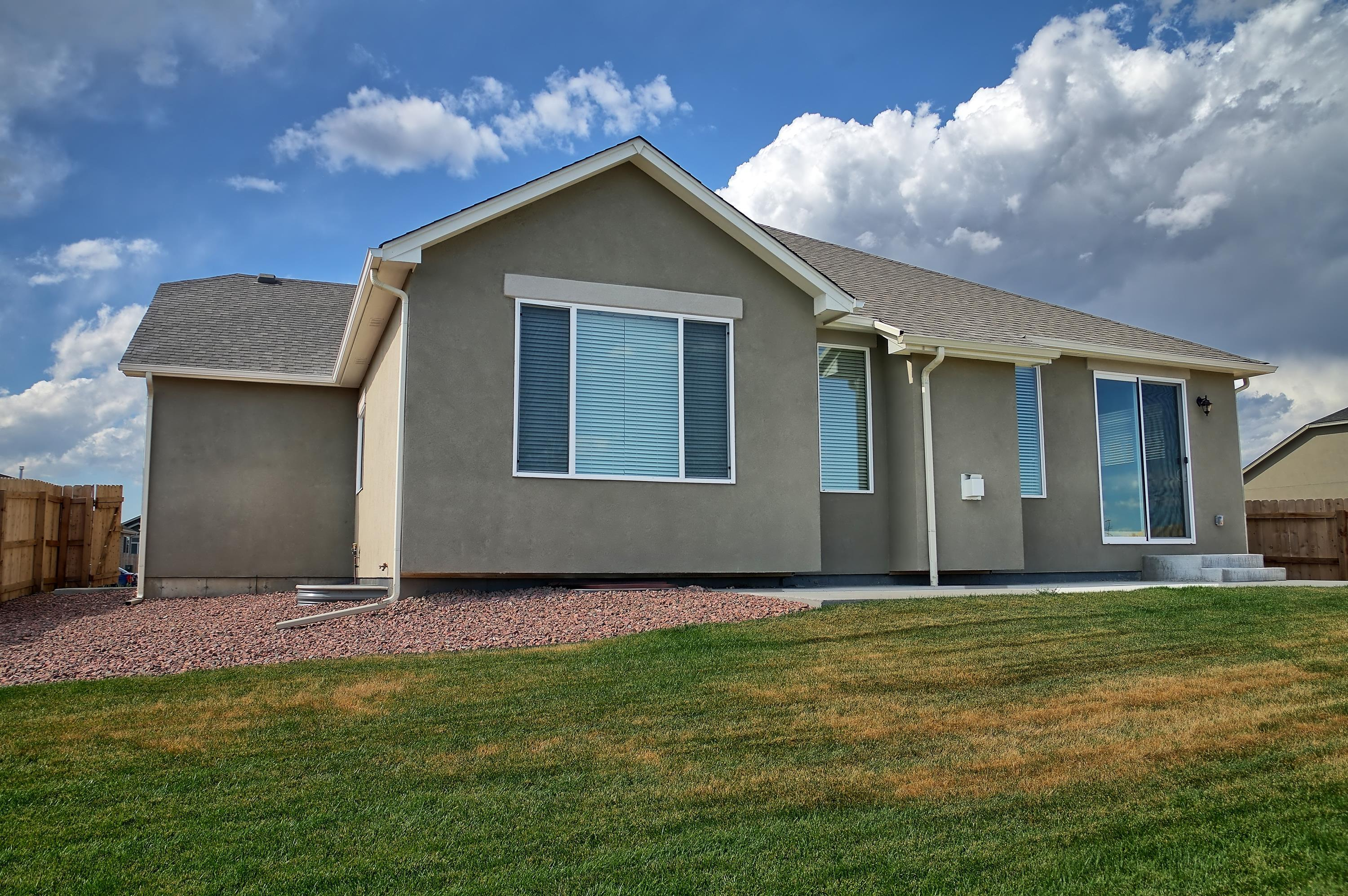 Exterior featured in the Cutler (Finished Basement) By Reunion Homes in Colorado Springs, CO