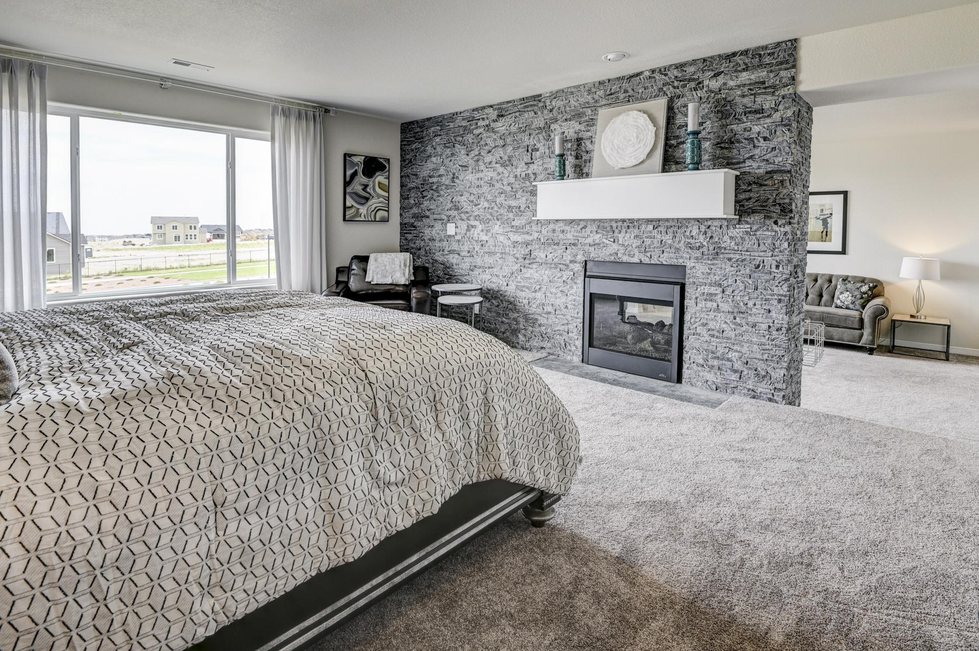 Bedroom featured in the Sunlight Peak (Finished Basement) By Reunion Homes in Colorado Springs, CO