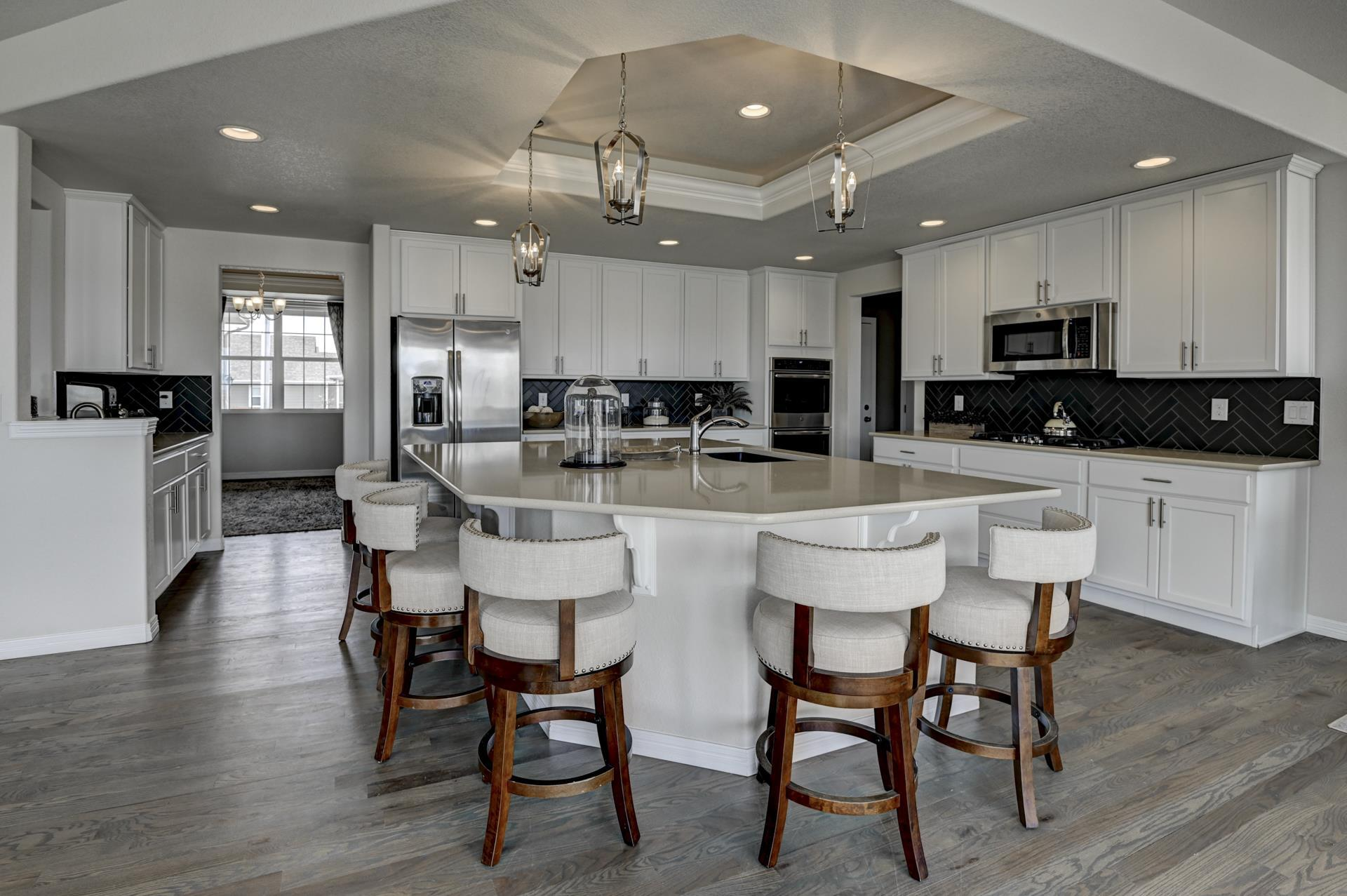 Kitchen featured in the Sunlight Peak (Finished Basement) By Reunion Homes in Colorado Springs, CO