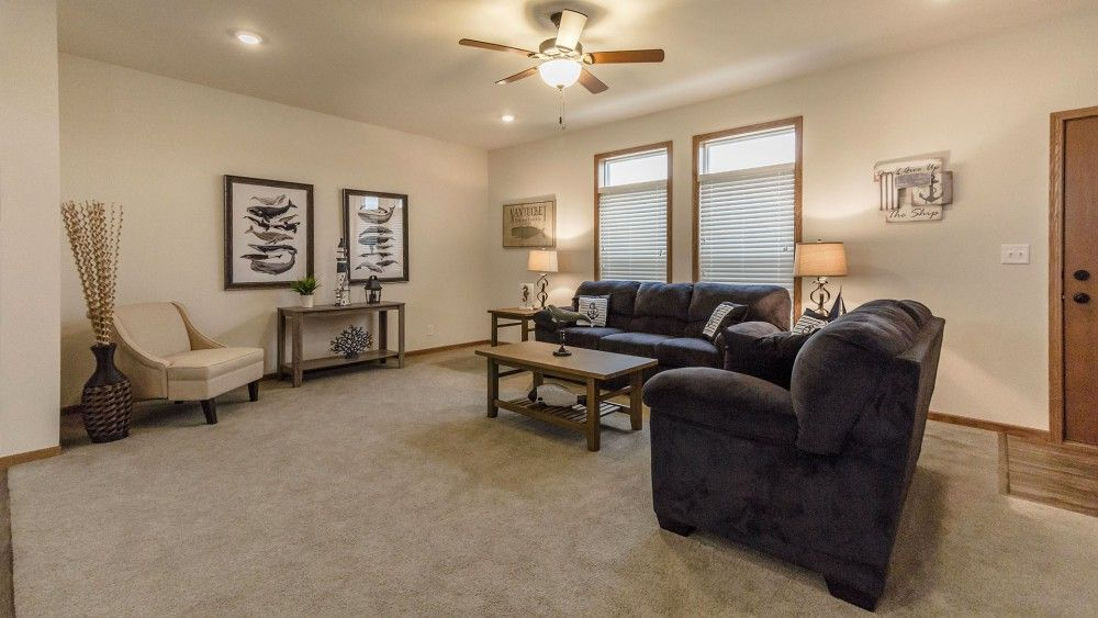 Living Area featured in the Beech by Bonnavilla By Seeger Homes in Colorado Springs, CO