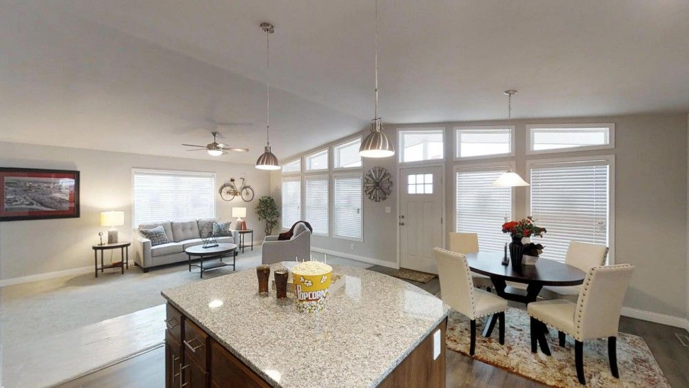 Living Area featured in the Chestnut by Bonnavilla By Seeger Homes in Colorado Springs, CO