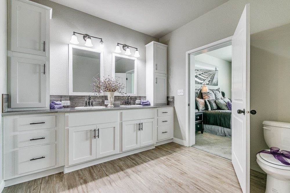 Bathroom featured in the Ironwood by Bonnavilla By Seeger Homes in Colorado Springs, CO