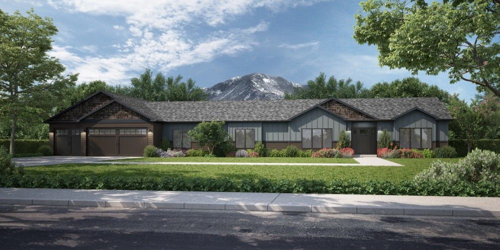 Exterior featured in the Redwood by Bonnavilla By Seeger Homes in Colorado Springs, CO