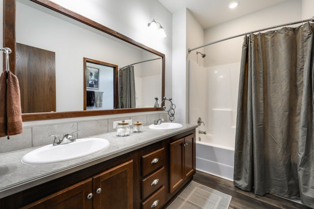 Bathroom featured in the Redwood by Bonnavilla By Seeger Homes in Colorado Springs, CO