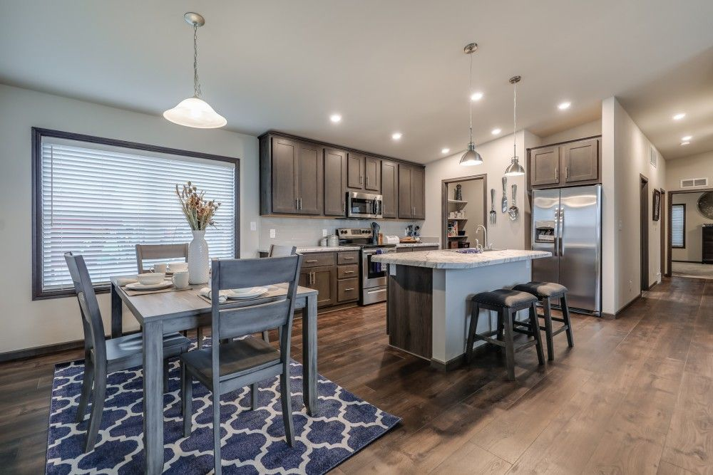 Kitchen featured in the Glenwood by Bonnavilla By Seeger Homes in Colorado Springs, CO