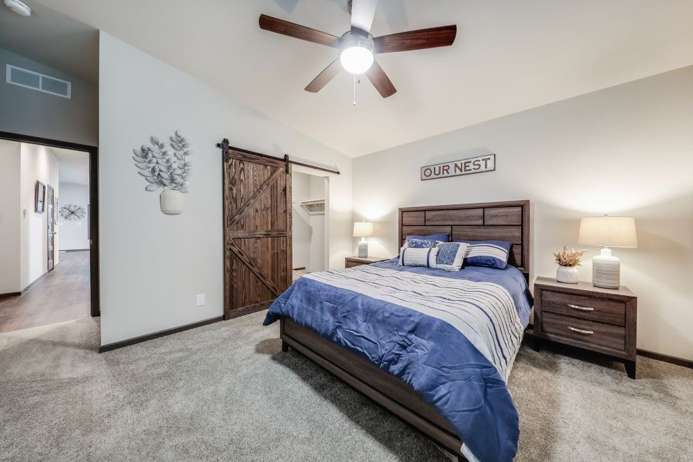 Bedroom featured in the Glenwood by Bonnavilla By Seeger Homes in Colorado Springs, CO