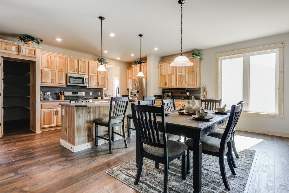 Kitchen featured in the Jersey by Bonnavilla By Seeger Homes in Colorado Springs, CO