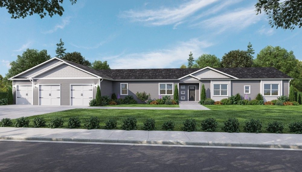 Exterior featured in the Sycamore by Bonnavilla By Seeger Homes in Colorado Springs, CO